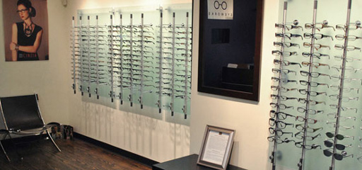 optical shop inside of Eyeworks of Atlanta location