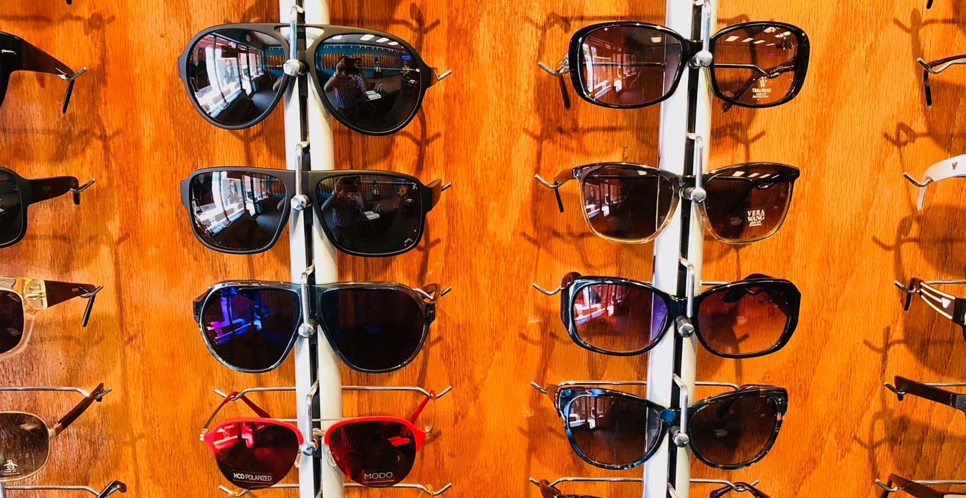 Sunglasses at Eyeworks of Brookahaven